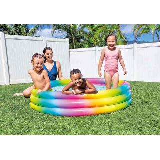 Obrázek 3 produktu Intex 58439 Bazén Rainbow Ombre 147x33 cm