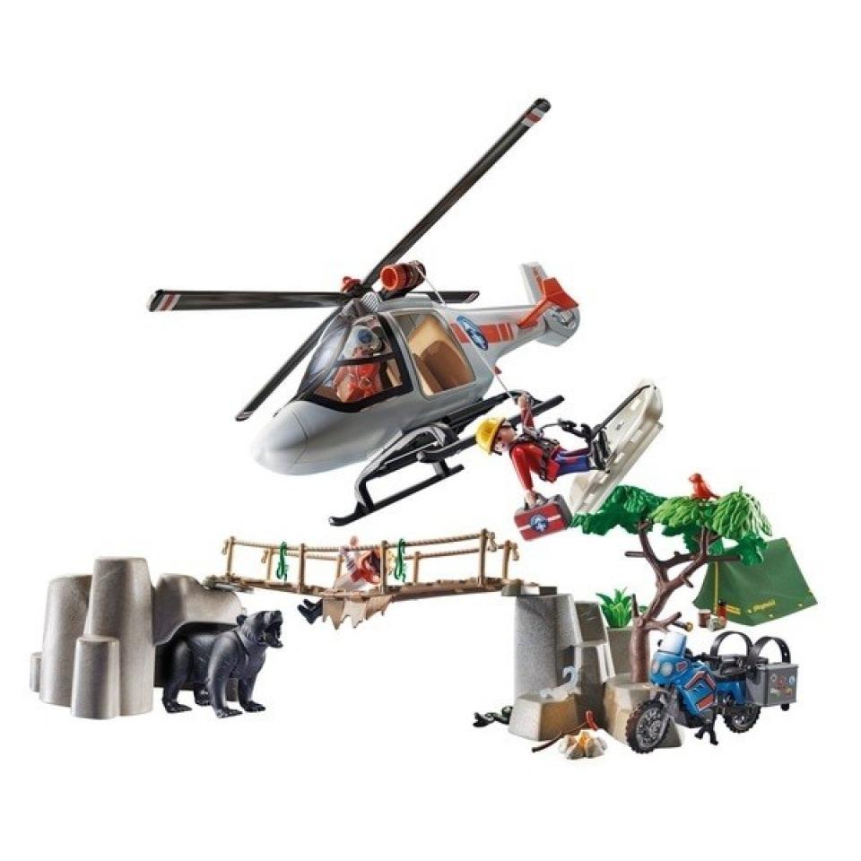 Obrázek 1 produktu Playmobil 70663 Nasazení helikoptéry v kaňonu