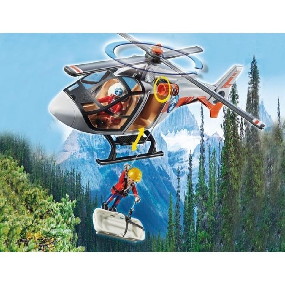 Obrázek 2 produktu Playmobil 70663 Nasazení helikoptéry v kaňonu