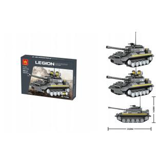 Obrázek 2 produktu LEGION 3660 Vojenský tank 360 dílků