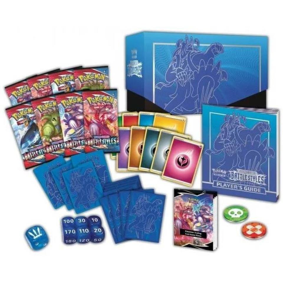 Obrázek 1 produktu Pokémon TCG: SWSH05 Battle Styles - Elite Trainer Box BLUE
