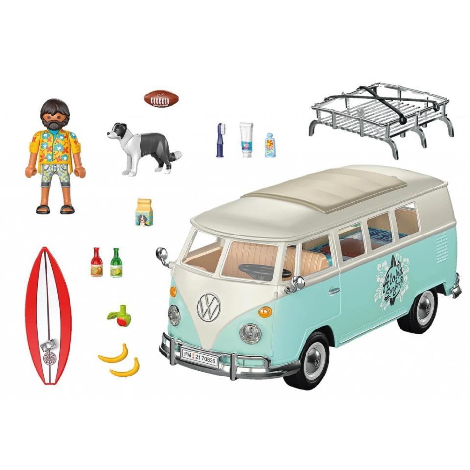 Obrázek 1 produktu Playmobil 70826 Volkswagen T1 Bulli Chrome Speciální edice