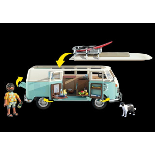 Obrázek 3 produktu Playmobil 70826 Volkswagen T1 Bulli Chrome Speciální edice