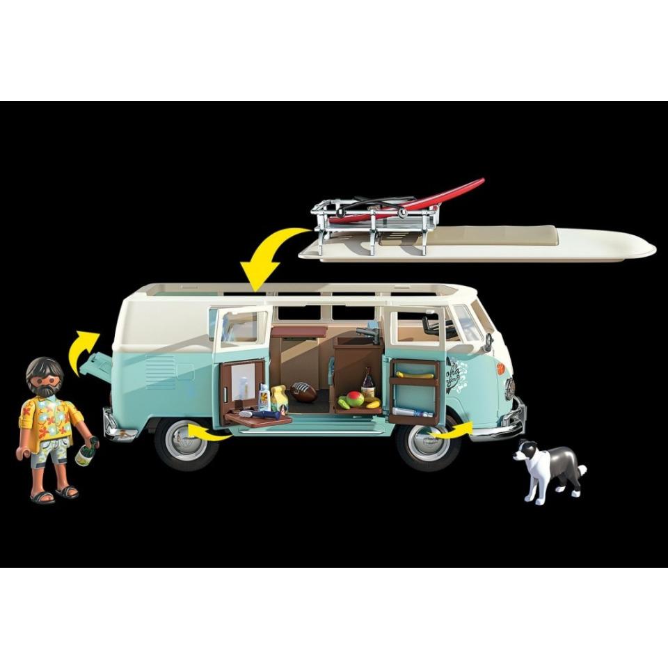 Obrázek 2 produktu Playmobil 70826 Volkswagen T1 Bulli Chrome Speciální edice