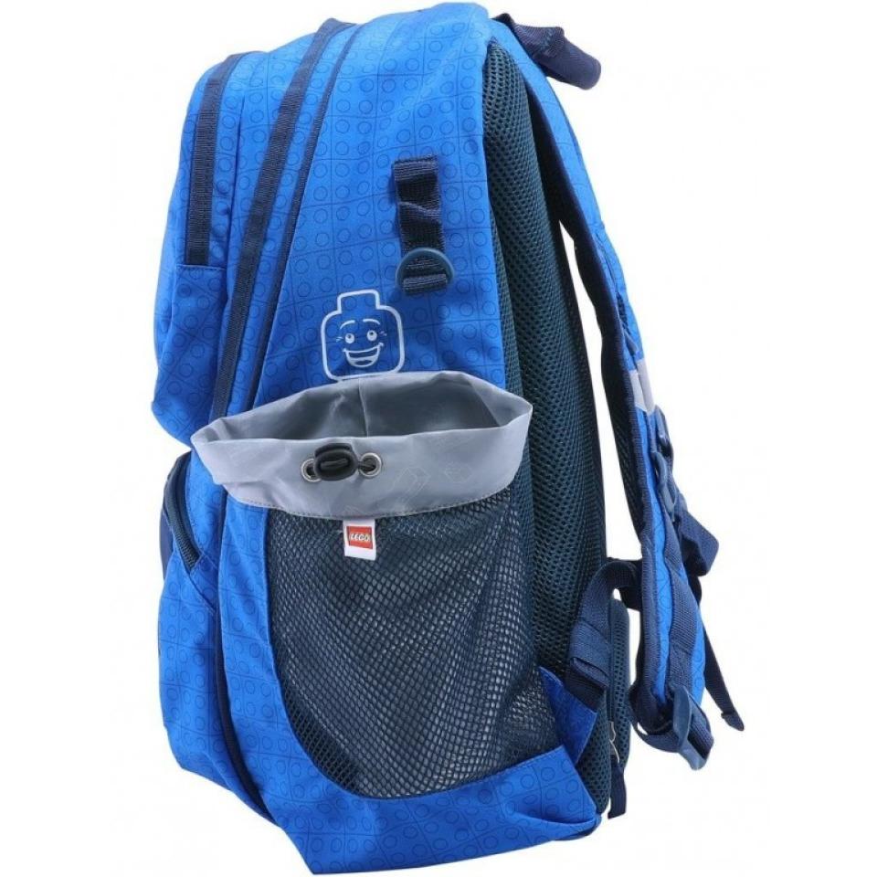 Obrázek 3 produktu LEGO Faces Blue Freshmen - školní batoh