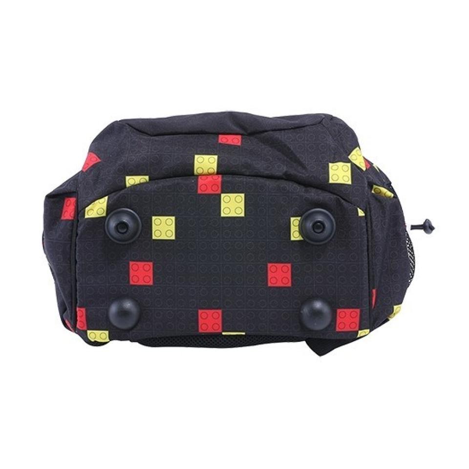Obrázek 2 produktu LEGO Faces Black Freshmen - školní batoh