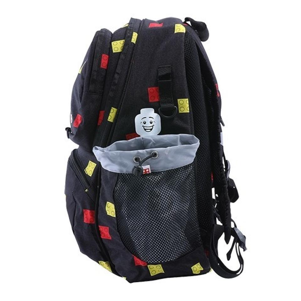 Obrázek 3 produktu LEGO Faces Black Freshmen - školní batoh