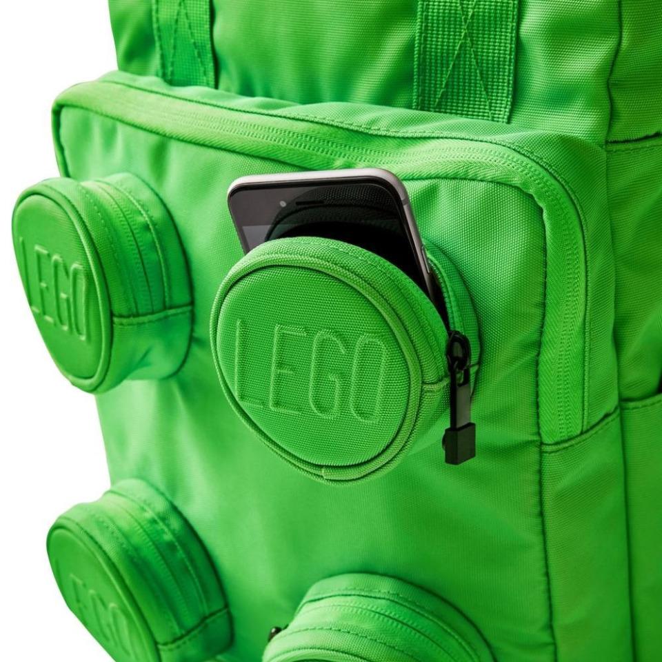 Obrázek 1 produktu LEGO Signature Brick 2x2 batoh - zelený
