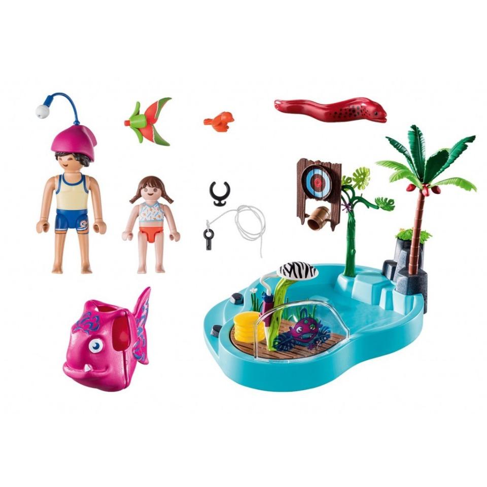 Obrázek 1 produktu Playmobil 70610 Zábavný bazén se stříkající vodou