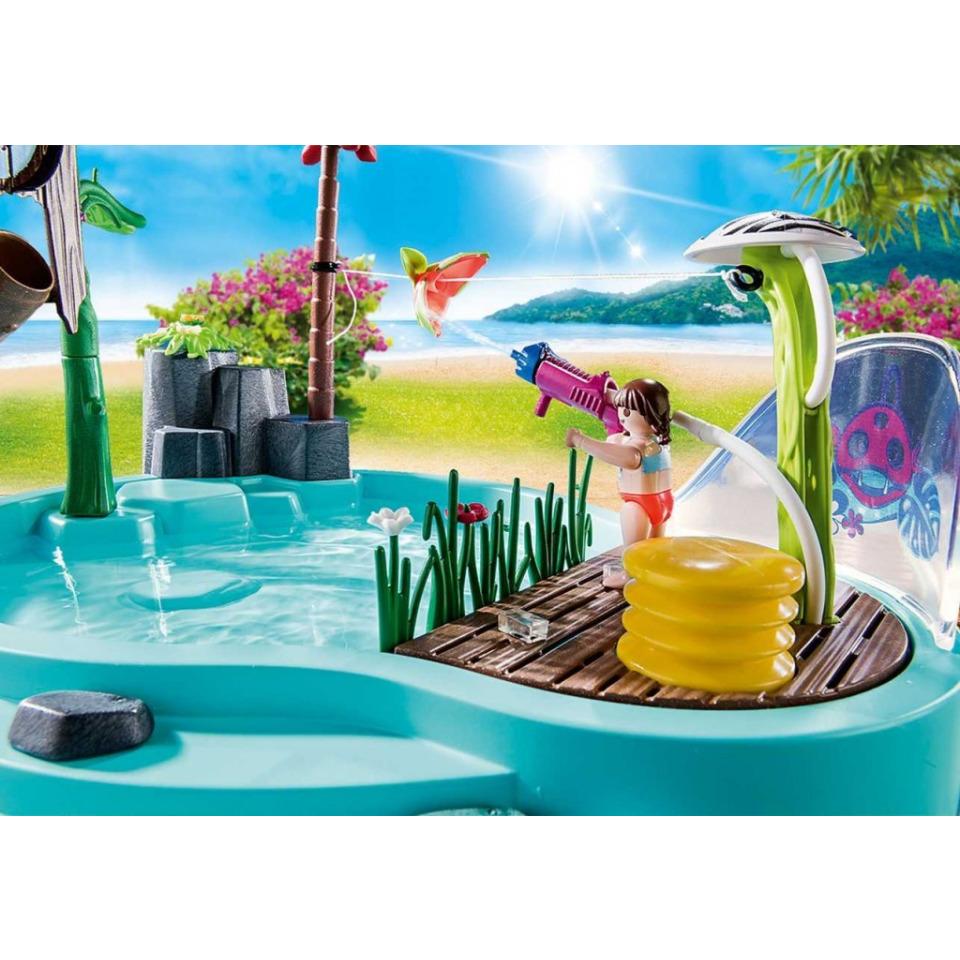 Obrázek 2 produktu Playmobil 70610 Zábavný bazén se stříkající vodou