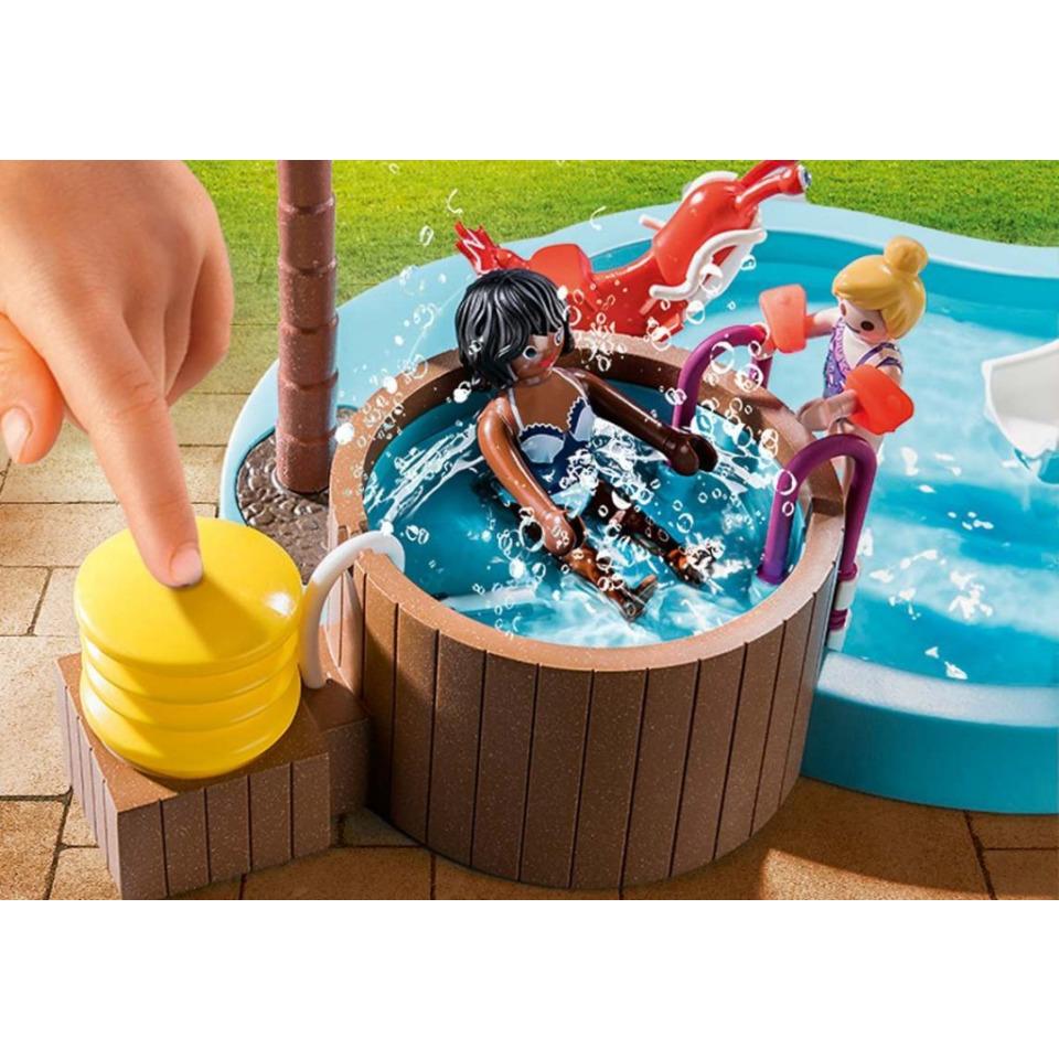 Obrázek 2 produktu Playmobil 70611 Dětský bazén s vířivkou