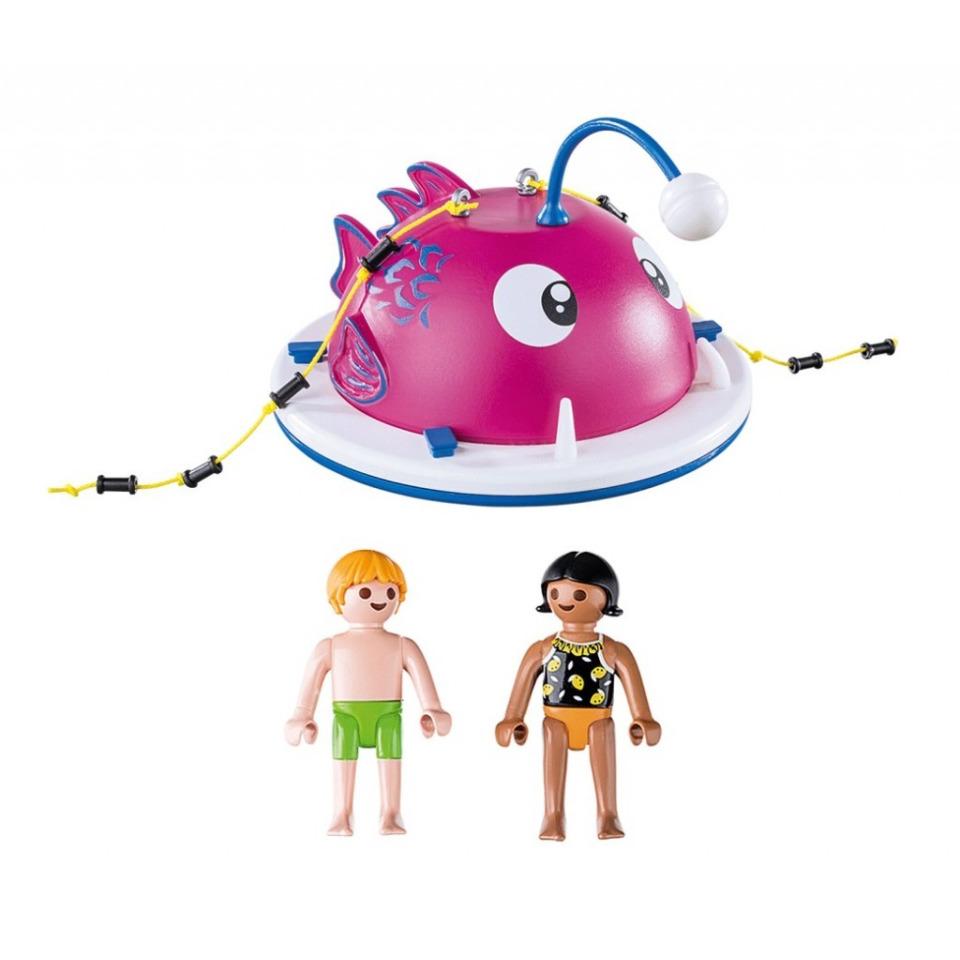 Obrázek 1 produktu Playmobil 70613 Lezecký plavecký ostrov