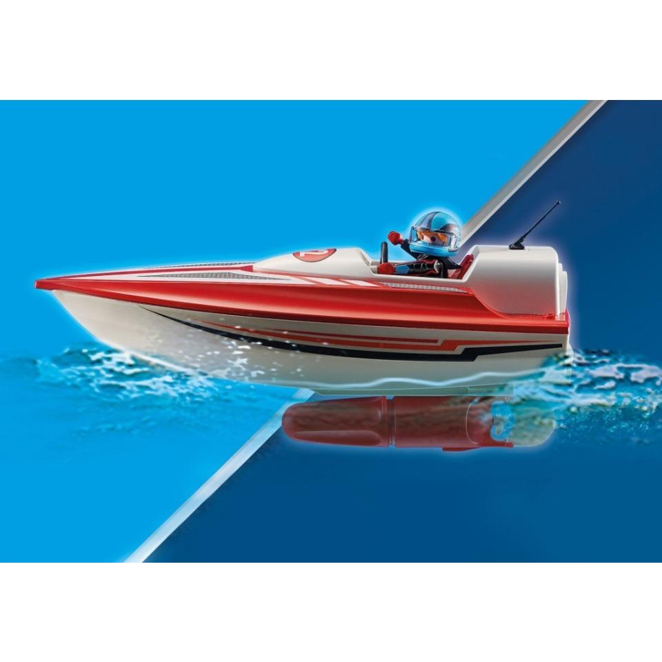 Obrázek 3 produktu Playmobil 70744 Motorový člun s podvodním motorem