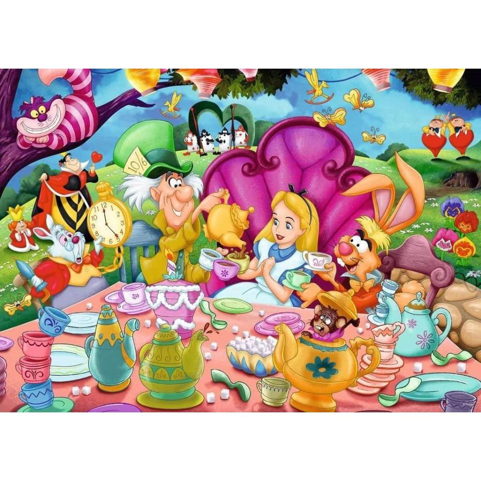 Obrázek 1 produktu Ravensburger 16737 Puzzle Disney Alenka v říši divů 1000 dílků