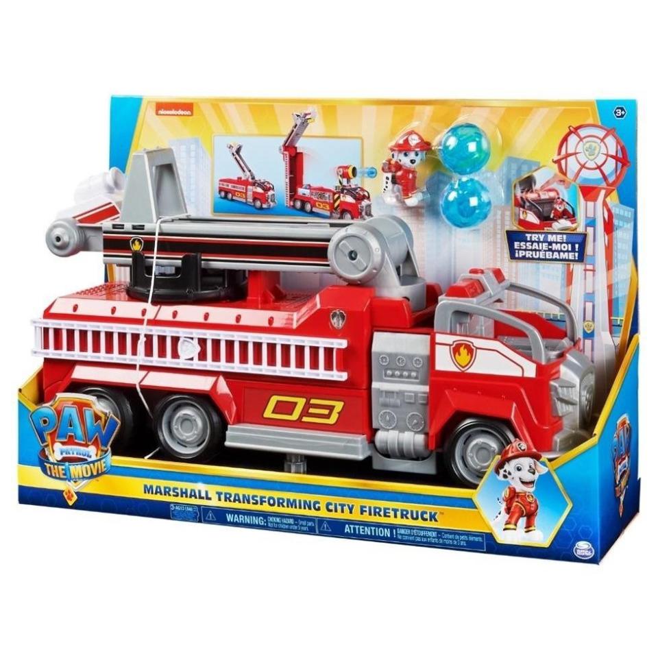 Obrázek 1 produktu Tlapková patrola Film Velká hasičský vůz s efekty