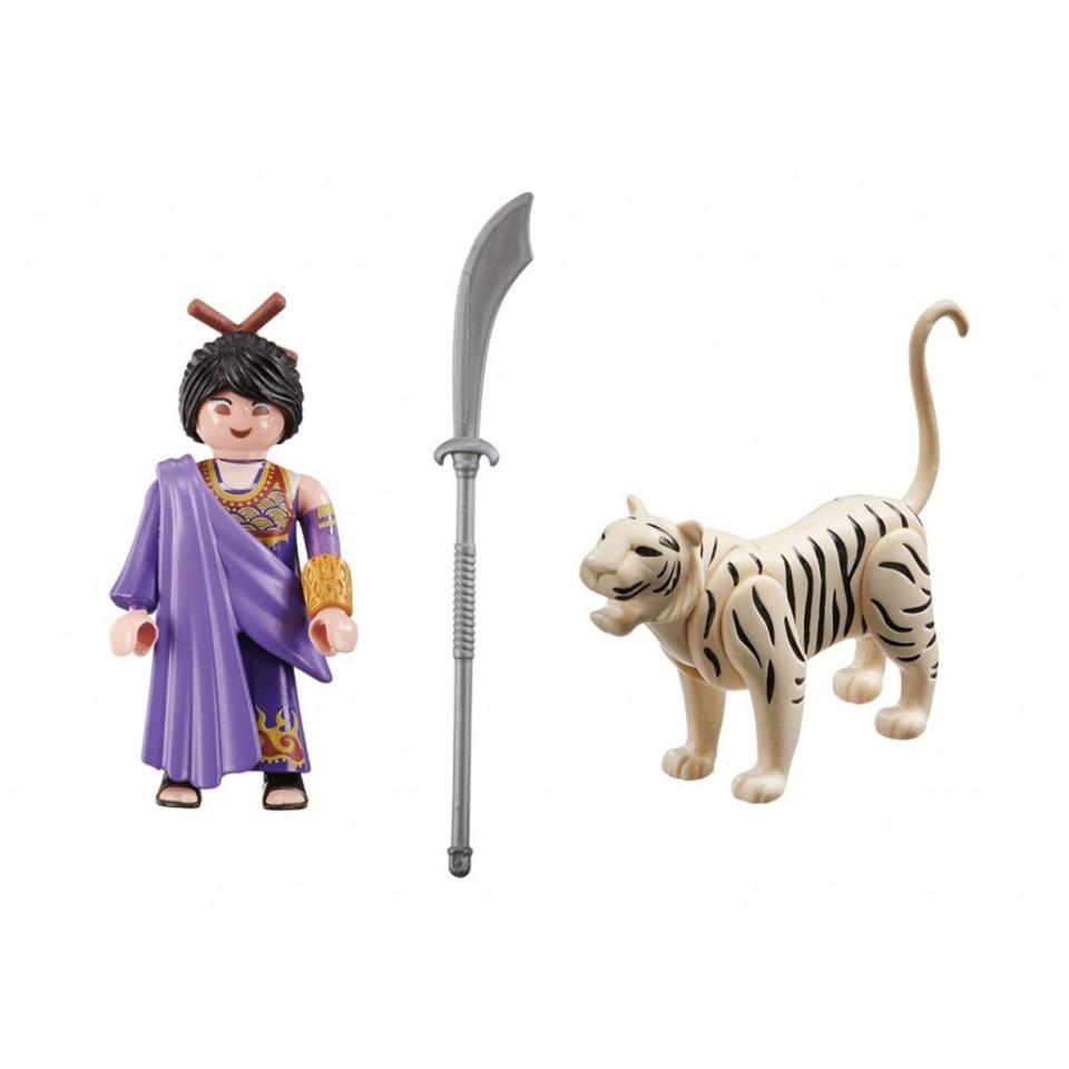 Obrázek 1 produktu Playmobil 70382 Asijská bojovnice s tygrem