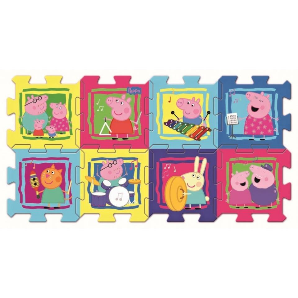 Obrázek 1 produktu TREFL pěnové puzzle Prasátko Pepa Pepina 8 ks