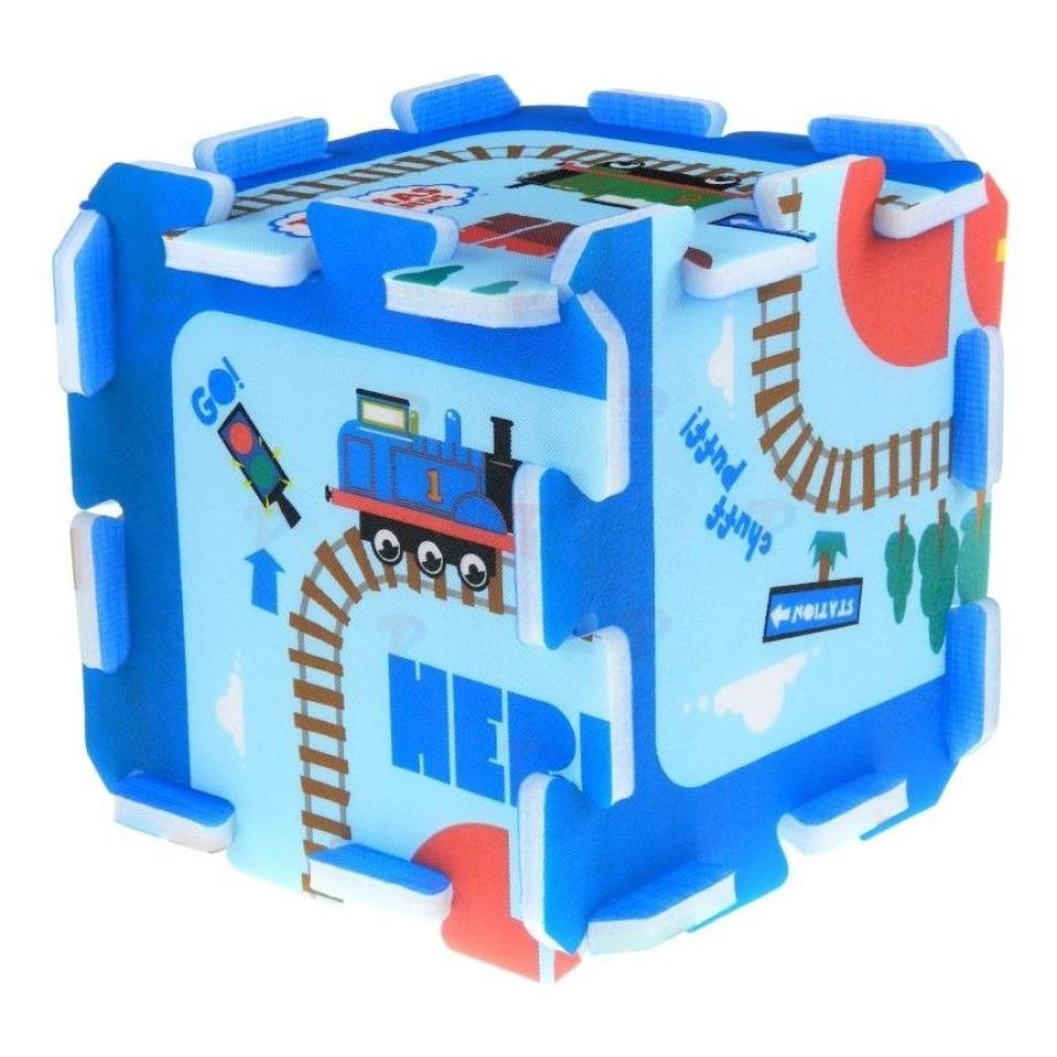 Obrázek 2 produktu TREFL pěnové puzzle Mašinka Tomáš 8 ks
