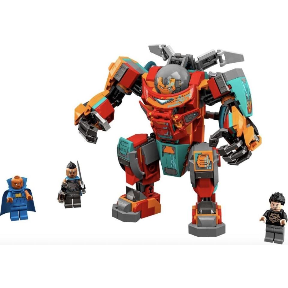 Obrázek 1 produktu LEGO Super Heroes 76194 Sakaarianský Iron Man Tonyho Starka