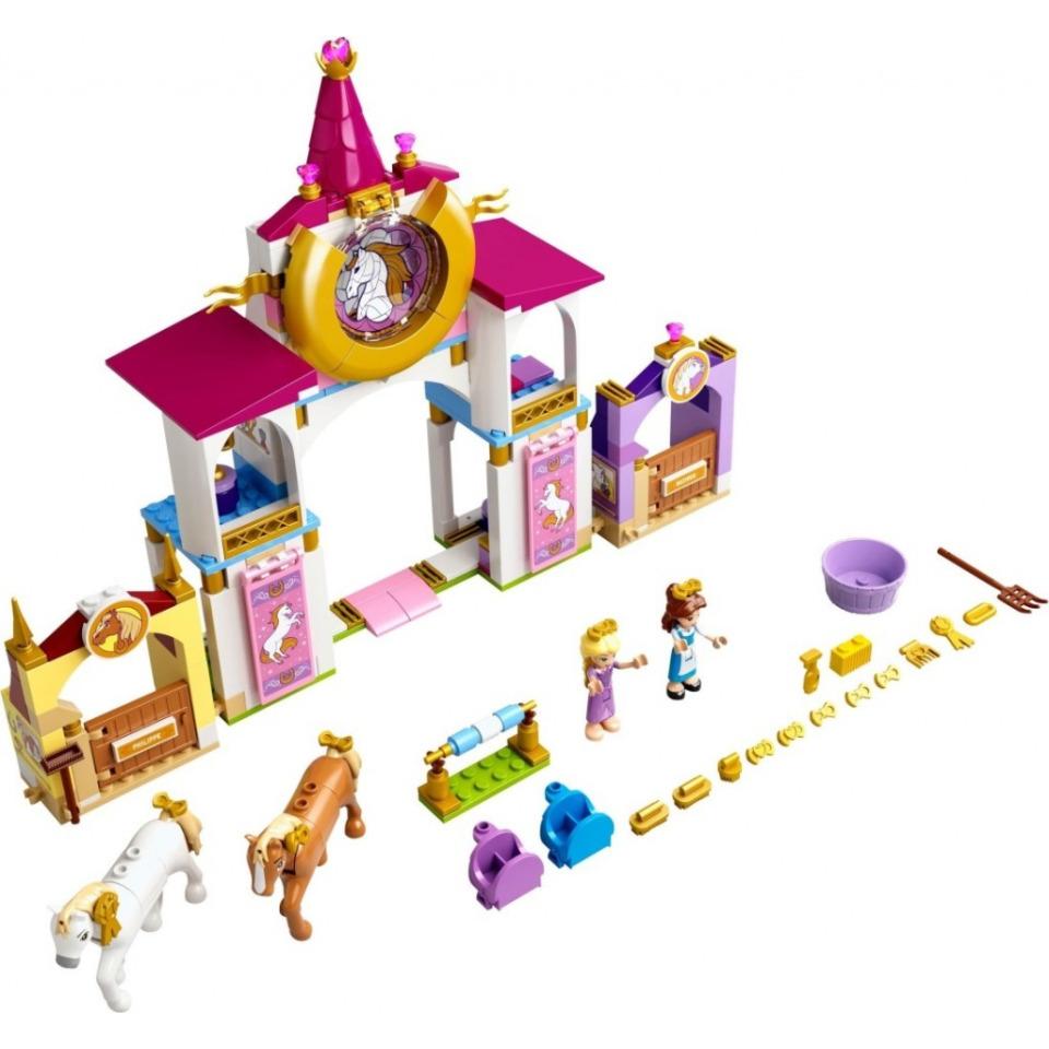 Obrázek 1 produktu LEGO Disney 43195 Královské stáje Krásky a Lociky