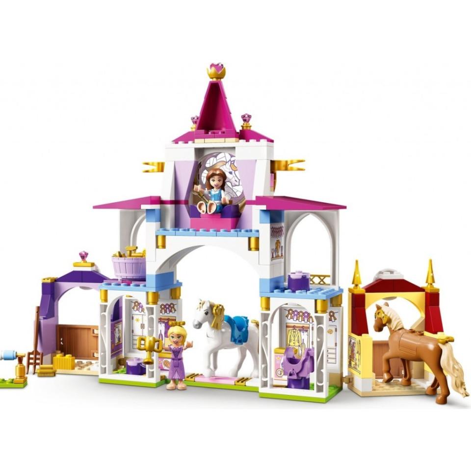 Obrázek 2 produktu LEGO Disney 43195 Královské stáje Krásky a Lociky
