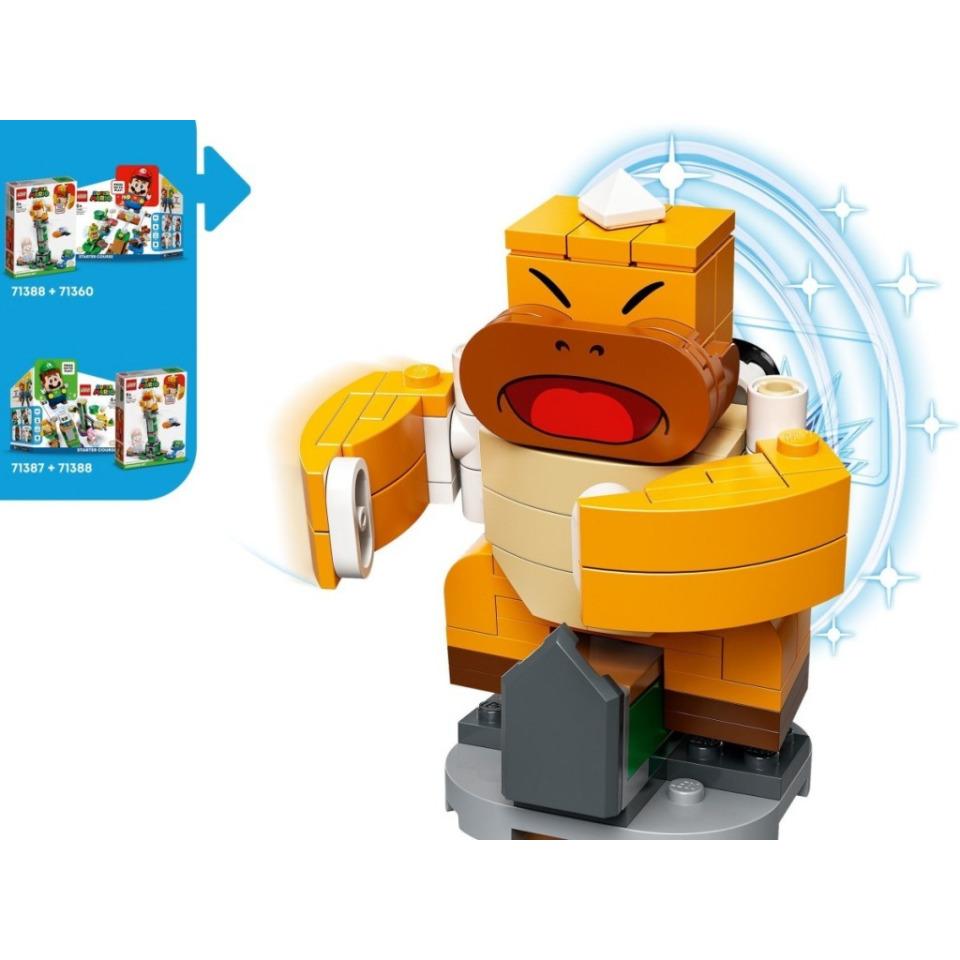 Obrázek 3 produktu LEGO SUPER MARIO 71388 Boss Sumo Bro a padající věž – rozšiřující set