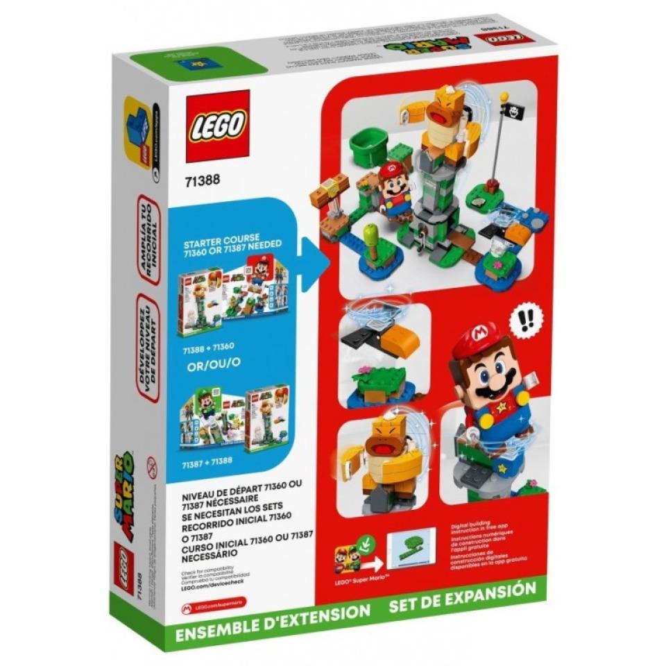 Obrázek 4 produktu LEGO SUPER MARIO 71388 Boss Sumo Bro a padající věž – rozšiřující set