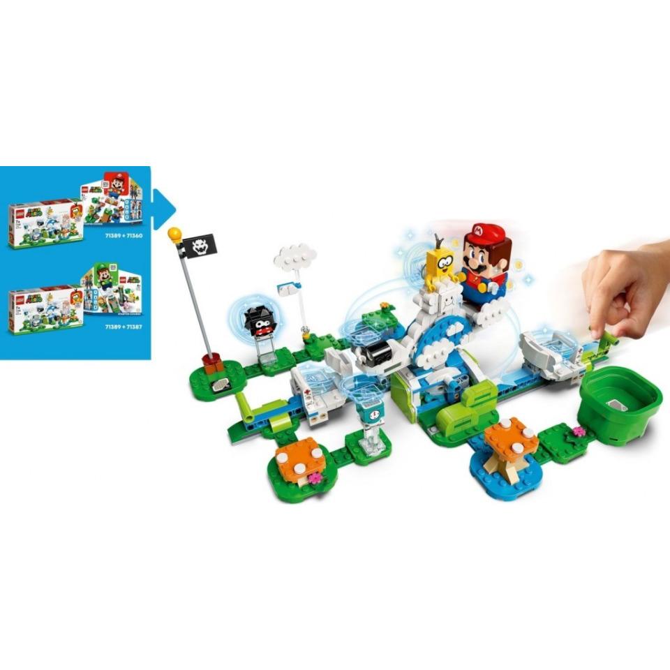 Obrázek 2 produktu LEGO SUPER MARIO 71389 Lakitu a svět obláčků – rozšiřující set