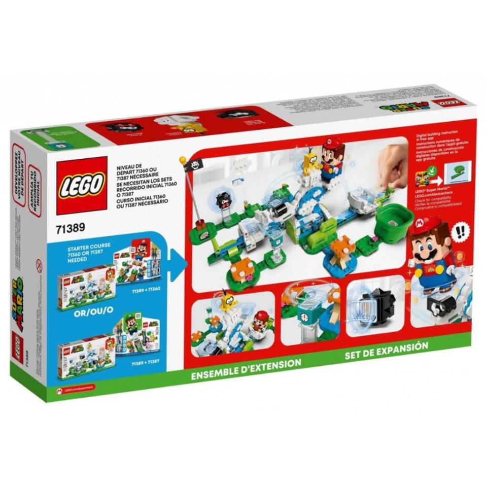 Obrázek 4 produktu LEGO SUPER MARIO 71389 Lakitu a svět obláčků – rozšiřující set