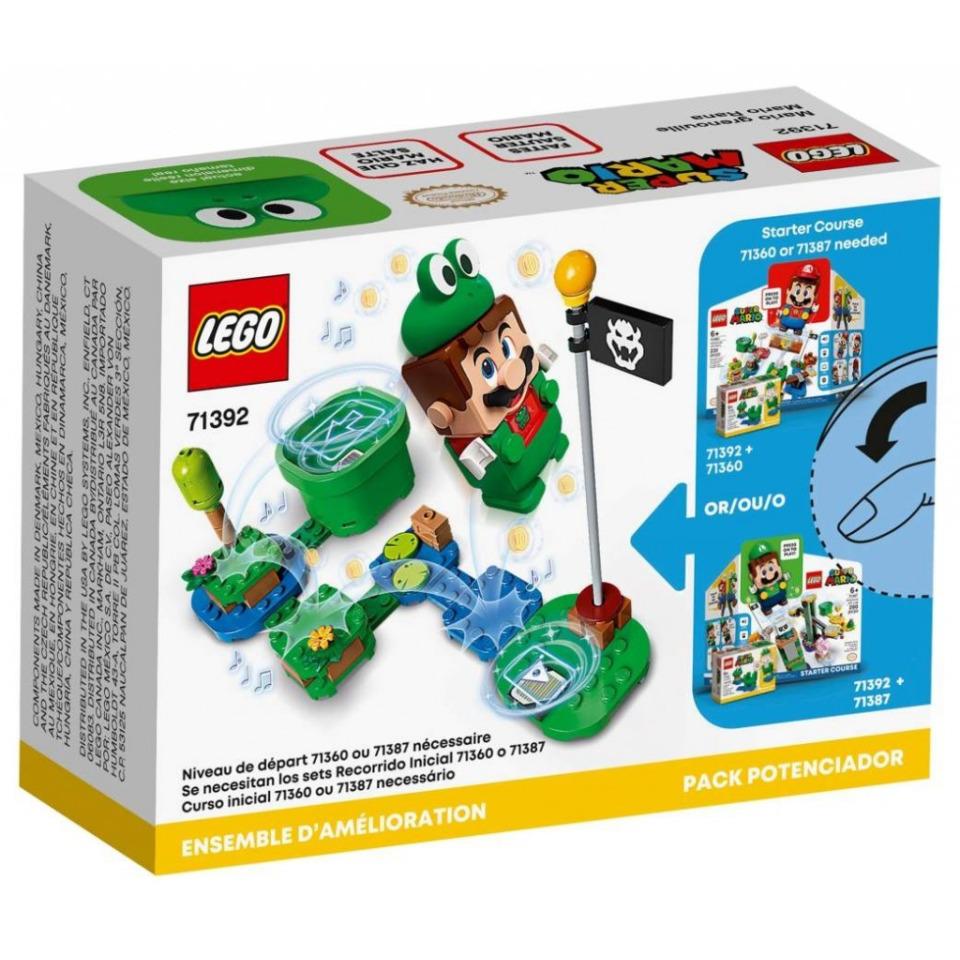 Obrázek 3 produktu LEGO SUPER MARIO 71392 Žába Mario – obleček