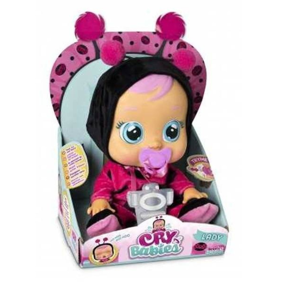 Obrázek 4 produktu Panenka Cry Babies Ladybug