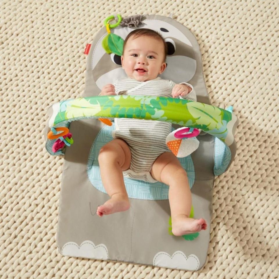 Obrázek 2 produktu Fisher Price Hrací dečka s lenochodem, Mattel GNB52
