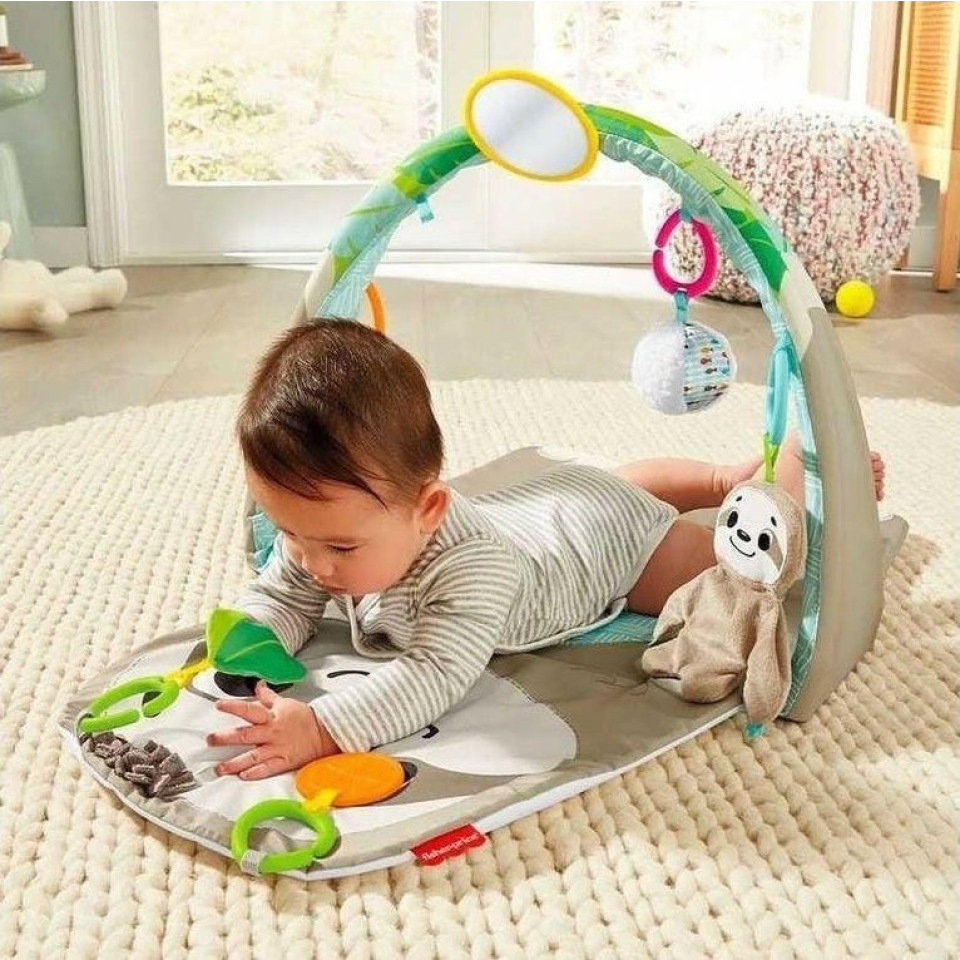 Obrázek 3 produktu Fisher Price Hrací dečka s lenochodem, Mattel GNB52