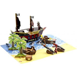 Obrázek 2 produktu EP line Stikbot filmařská sada pirátská loď
