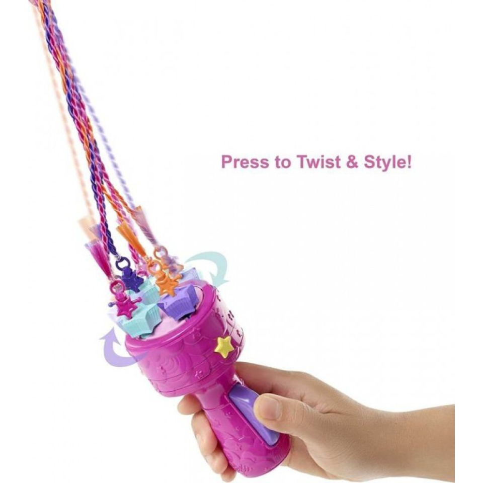 Obrázek 2 produktu Barbie Princezna s barevnými vlasy, Mattel GTG00