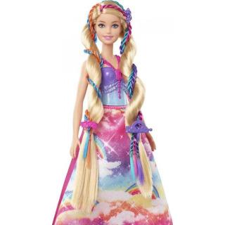 Obrázek 4 produktu Barbie Princezna s barevnými vlasy, Mattel GTG00