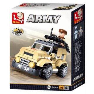 Obrázek 2 produktu Sluban Army M38-B0587A Hlídkový vůz