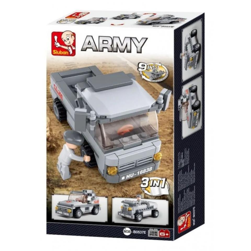 Obrázek 2 produktu Sluban Army M38-B0537E Nákladní auto