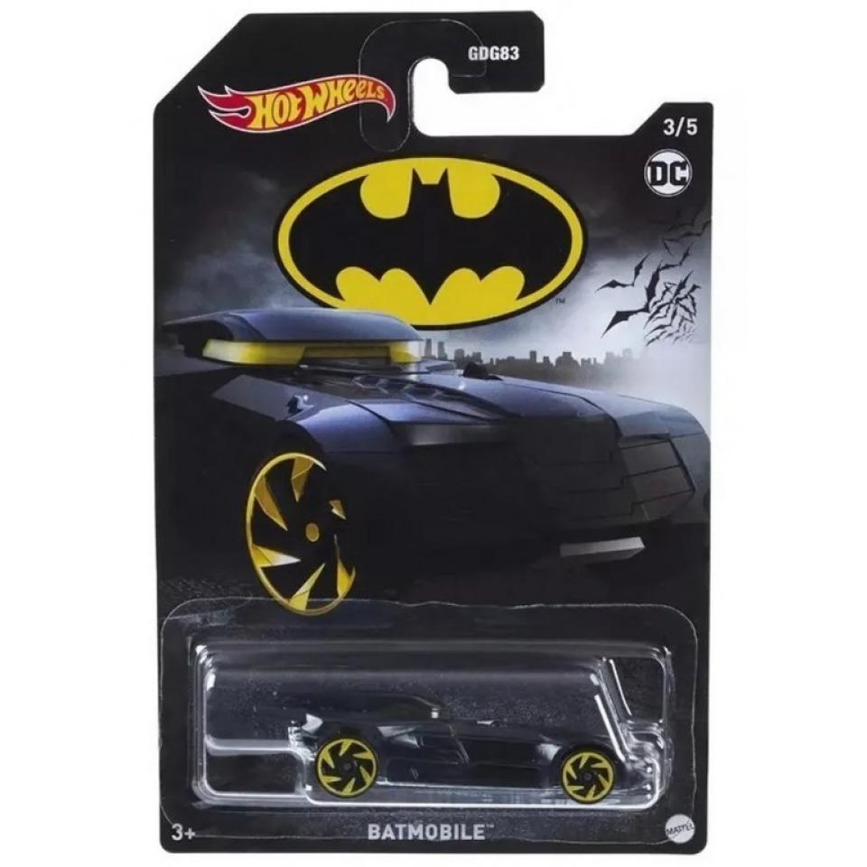 Obrázek 1 produktu Hot Wheels Angličák Batman Batmobile Mattel GRP61