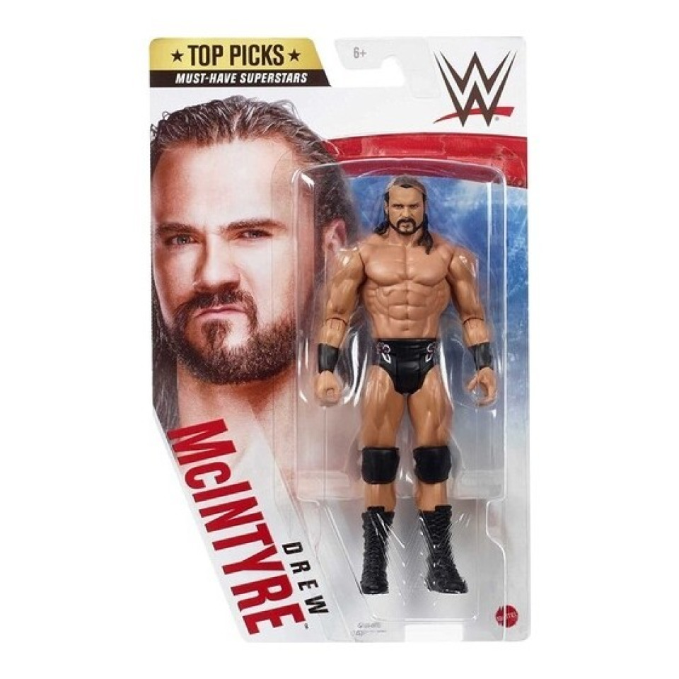 Obrázek 1 produktu WWE Top Picks Drew McINTYRE 18 cm, Mattel GTG69