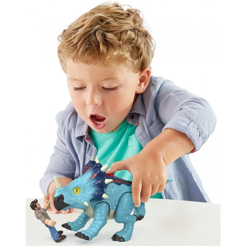 Obrázek 3 produktu Fisher Price Imaginext PACHYRHINOSAURUS a LOWERY, Mattel GMR17