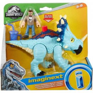 Obrázek 5 produktu Fisher Price Imaginext PACHYRHINOSAURUS a LOWERY, Mattel GMR17