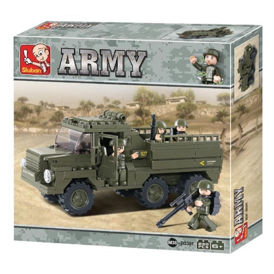 Obrázek 2 produktu Sluban Army M38-B0301 Vozidlo pro transport vojáků
