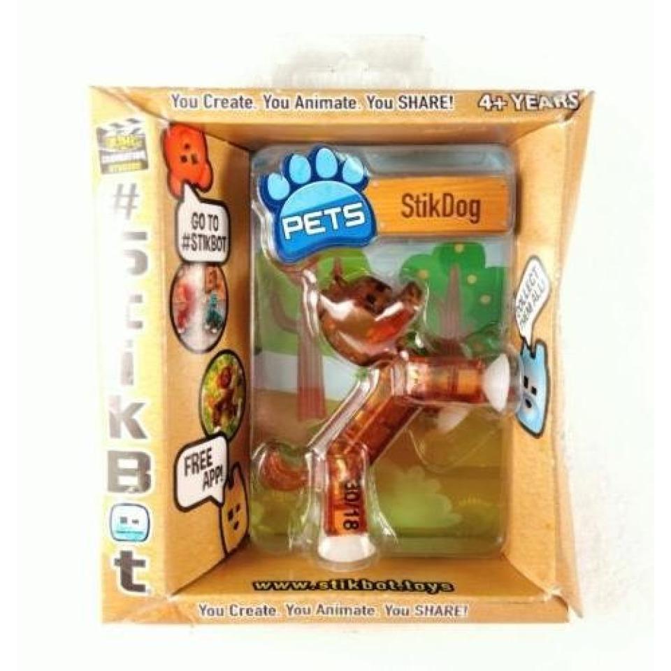 Obrázek 1 produktu EP line Stikbot zvířátko Stikpes hnědý