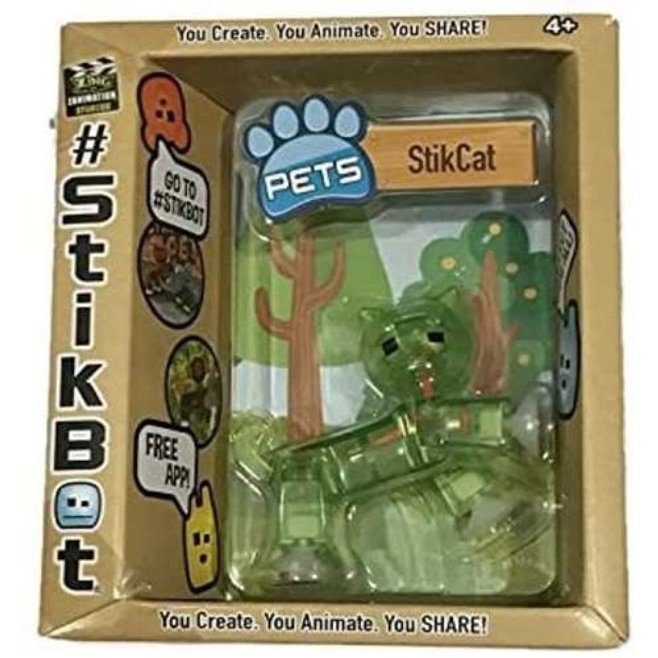 Obrázek 1 produktu EP line Stikbot zvířátko Stikkočka zelená