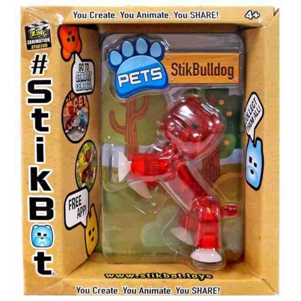 Obrázek 1 produktu EP line Stikbot zvířátko Stikbuldog červený