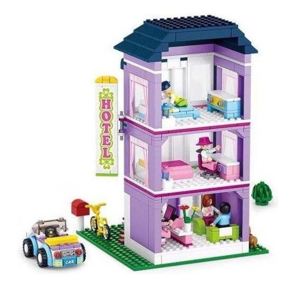 Obrázek 1 produktu Sluban Girls Dream Town M38-B0531 Hotel