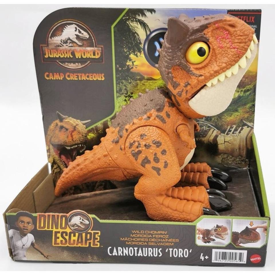 Obrázek 3 produktu Jurský svět Dino útěk CARNOTAURUS TORO, Mattel HBY84