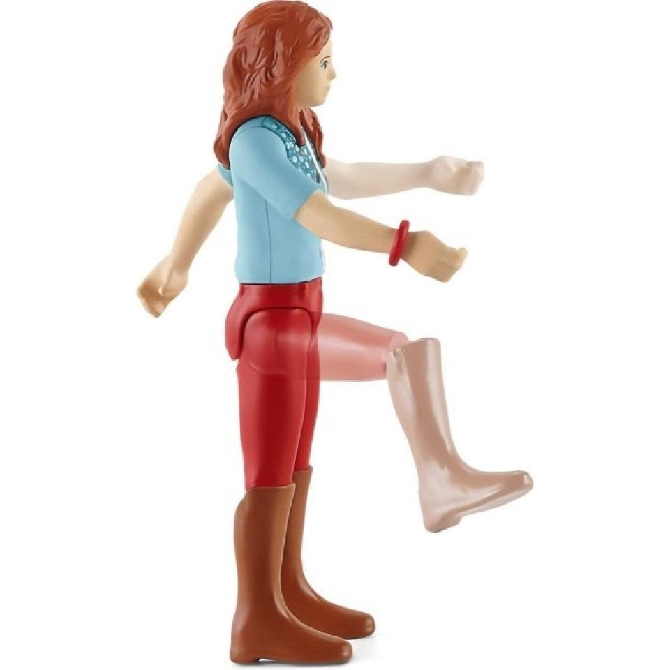 Obrázek 2 produktu Schleich 42539 Zrzka Hannah s pohyblivými klouby na koni
