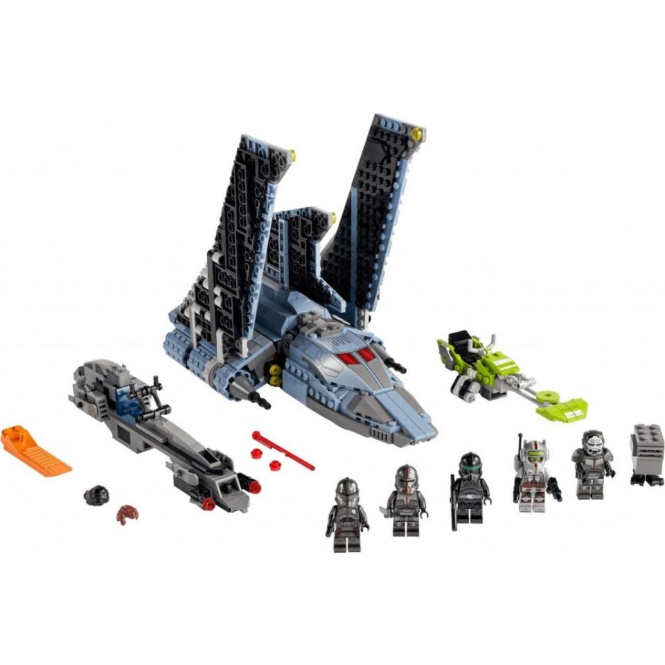 Obrázek 1 produktu LEGO Star Wars 75314 Útočný letoun Vadné várky